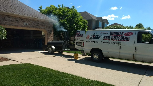 Catering Services in Wilmington, IL - Mobile Smoker